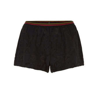 Short noir finantiz black.