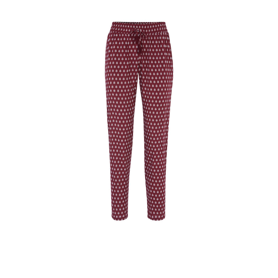 Coroniz burgundy trousers;${refinementColor}