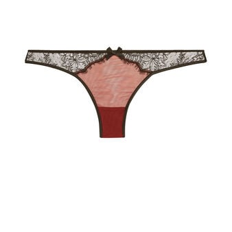 Tanga bordeaux new venusiz red.