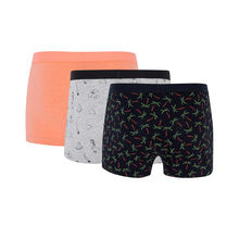Raveliz boxer short set black.