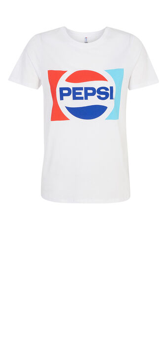Top blanc pepsiz white.