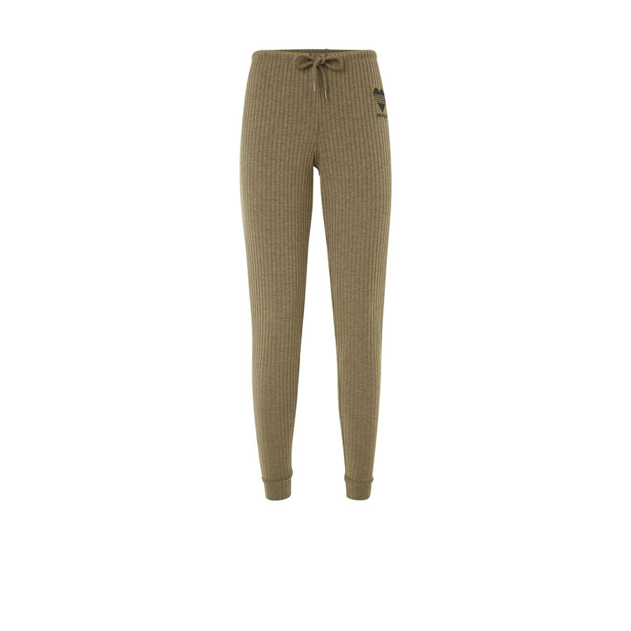 Lovelifiz khaki green trousers;${refinementColor}