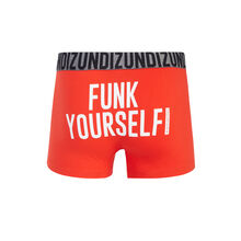 Funkiz red boxer shorts orange.