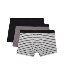 Set of three gradientiz boxer shorts black.
