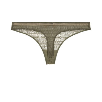 New voltiz khaki green thong green.