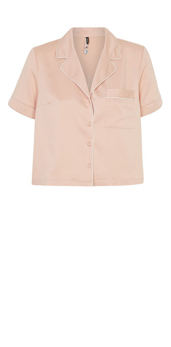 Top rose corail pyjamiz pink.