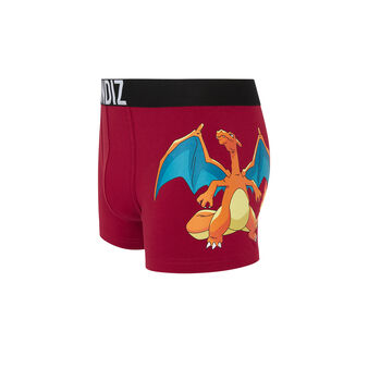 Fireiz red boxer shorts  red.