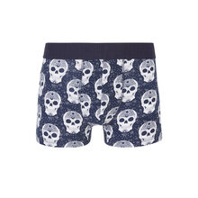 Sylviz blue boxer shorts blue.
