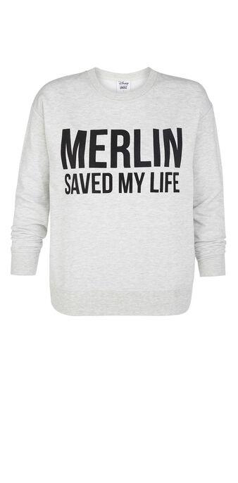 Merliz grey sweatshirt grey.