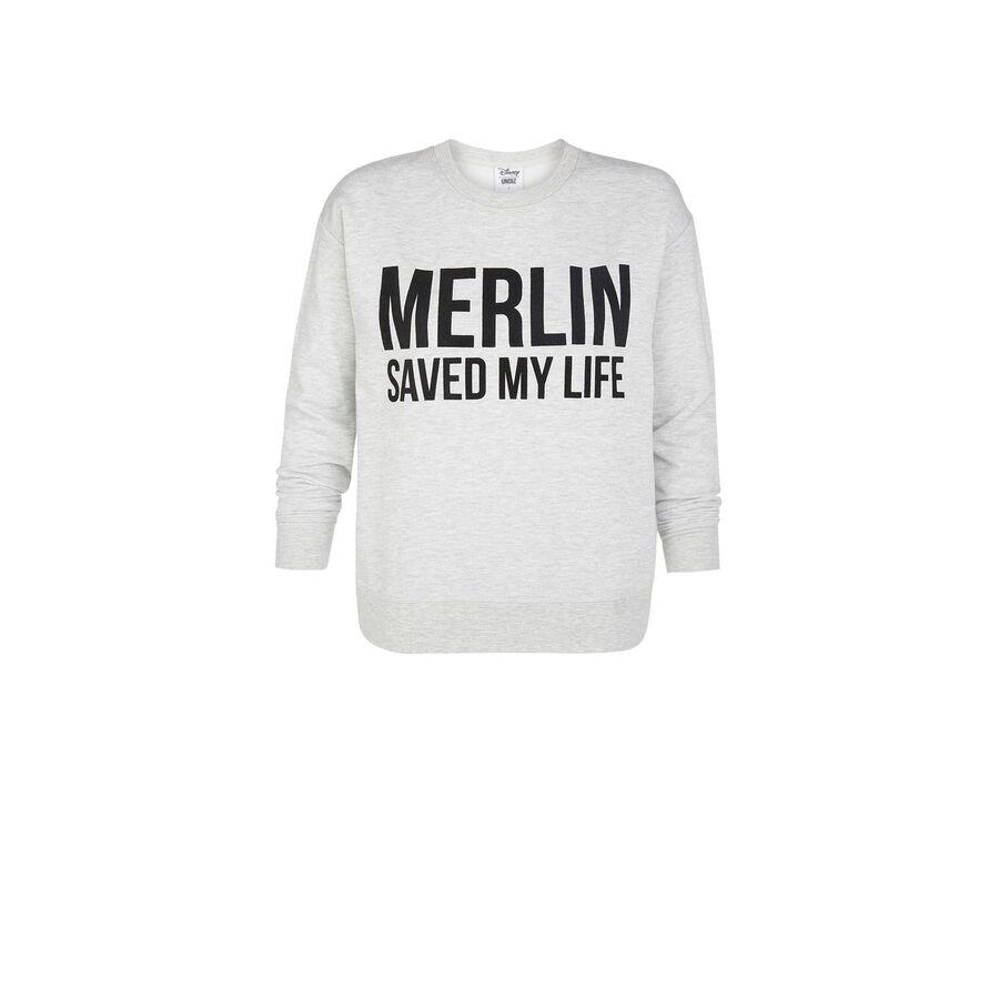 Merliz grey sweatshirt;${refinementColor}