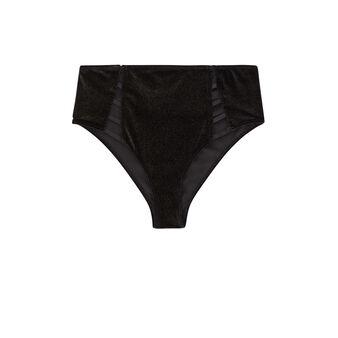 Culotte taille haute noire baciluciz black.