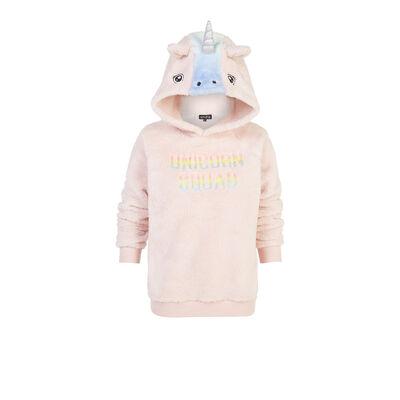Licorneiz light pink sweatshirt;${refinementColor}