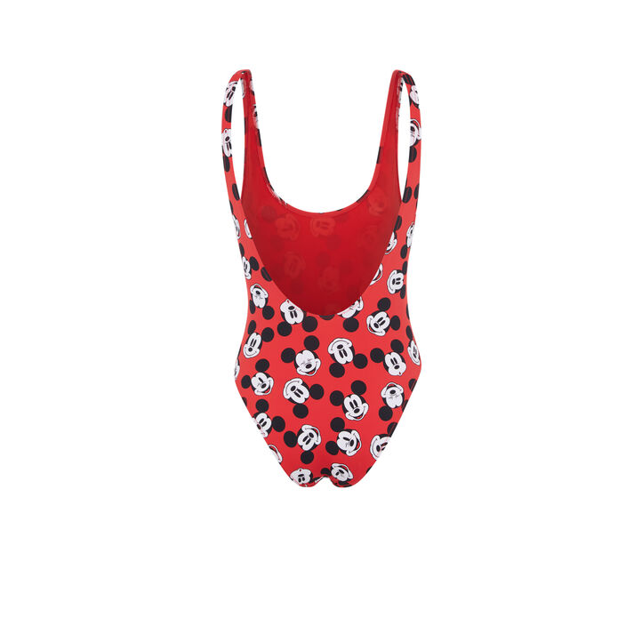 Maillot de bain une pièce rouge fundisniz red.