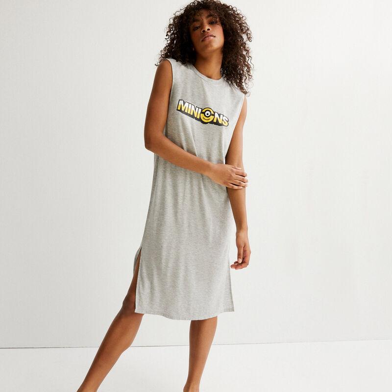 robe à imprimé Les Minions - gris;