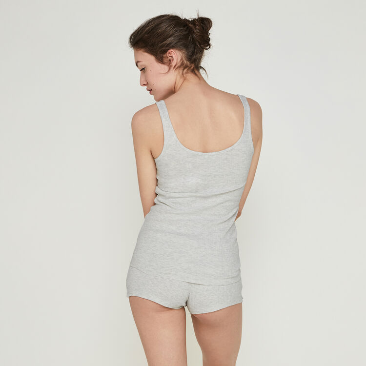 Short gris clair newdebidiz grey.