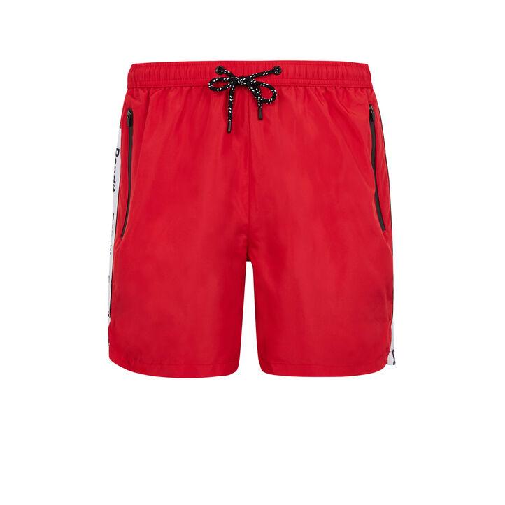 Short de bain rouge banditiz red.