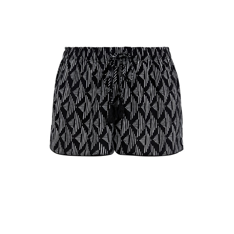 Short noir pomgeoliz black.