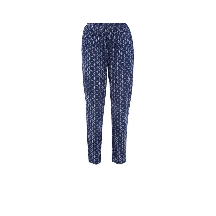 Pantalon bleu foncé polipiz;