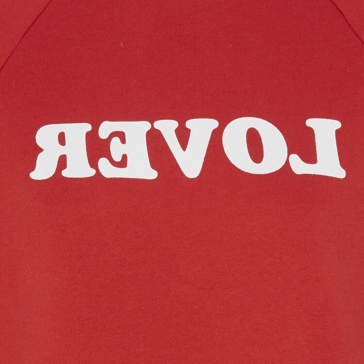Sweat rouge realoveriz;