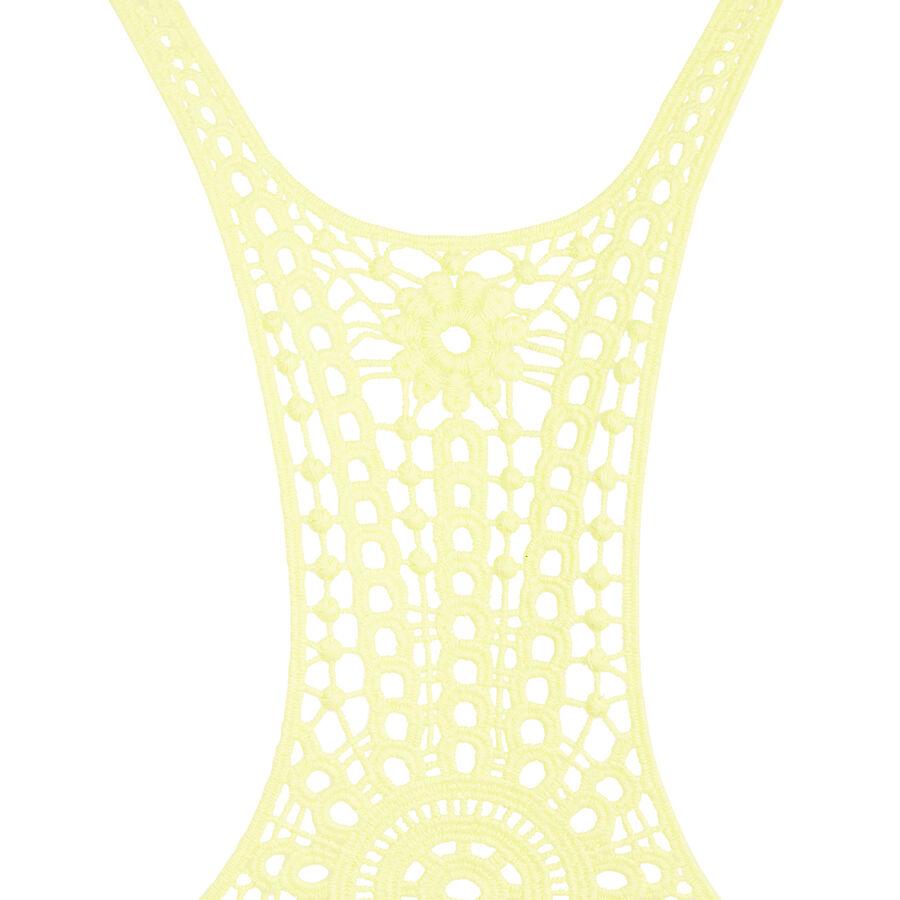 haut de maillot de bain jaune cookiz undiz. Black Bedroom Furniture Sets. Home Design Ideas