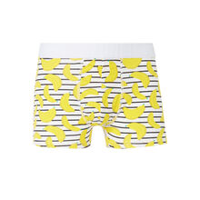 Ramiz white boxer shorts white.