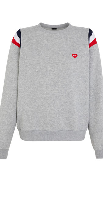 Sweat gris mindiz grey.