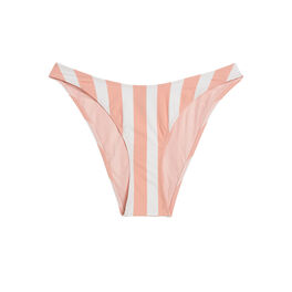 Bas de maillot rayiz  rose et blanc pink.