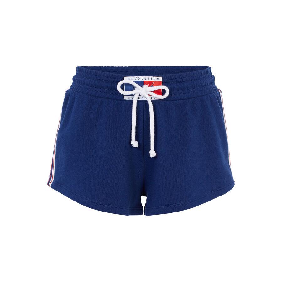 Short bleu marine tikitiz;