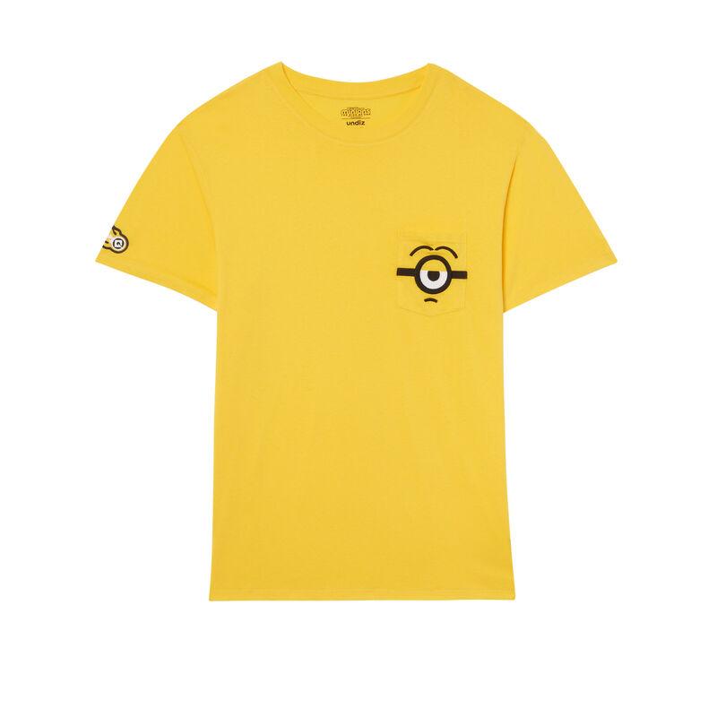 tee-shirt à détails poche Les Minions - jaune;