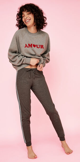 Sweat gris amoureusiz grey.