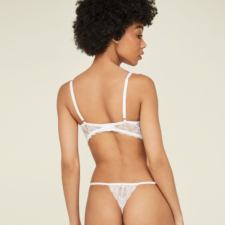 String blanc finiz white.