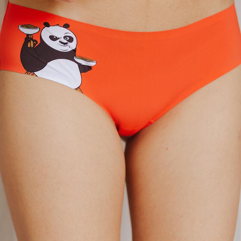 shorty en micro kung fu panda - orange;