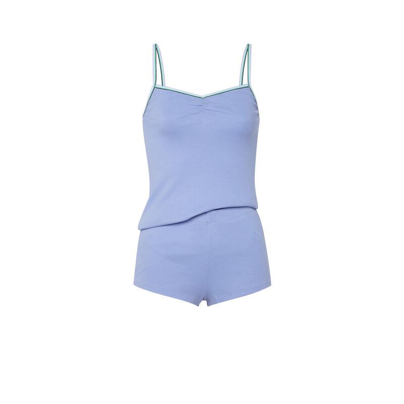 set caraco + short - bleu ciel ;