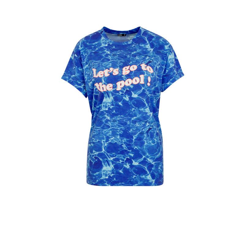 Top bleu interpisciniz;