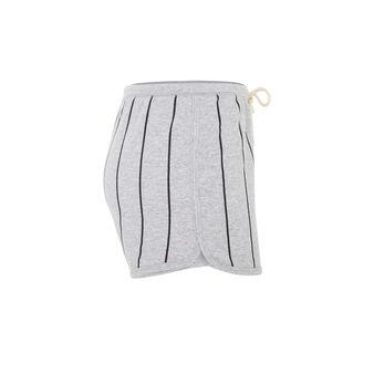 Mibinoculiz light grey shorts grey.