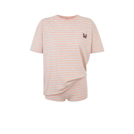 Set pyjama rose bluesavemiz pink.