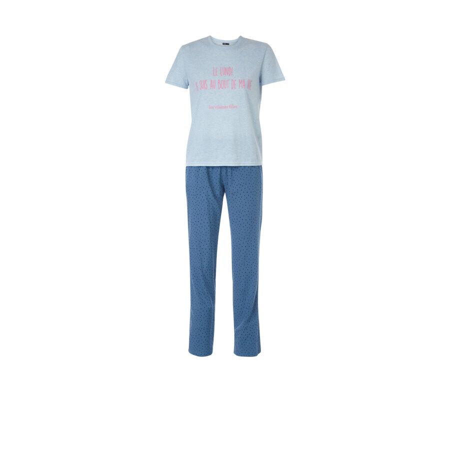 Ensemble de pyjama bleu boudviz;${refinementColor}
