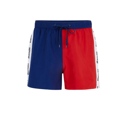 Short de bain rouge biffranciz red.