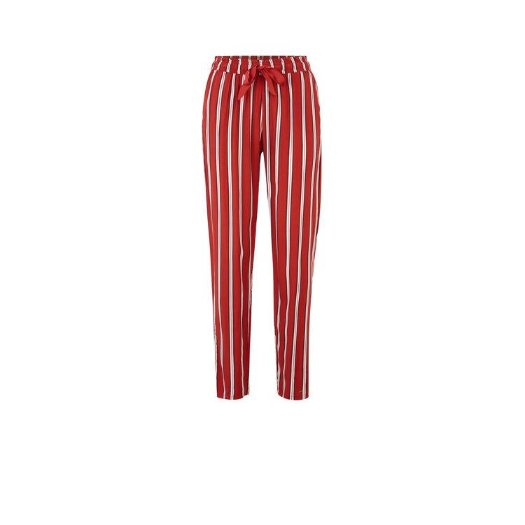 Pantalon rouge brique lalasiz;