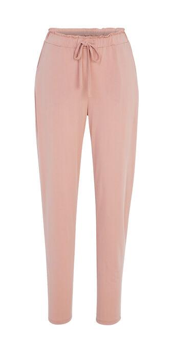 Pantalon rose poudré jobitiz pink.