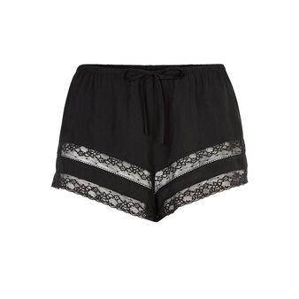 Insertiz black shorts black.