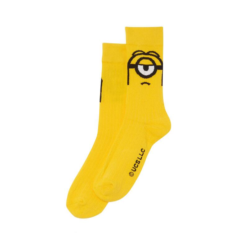 chaussettes Les Minions - jaune;
