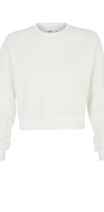 Sweat blanc chipitiz white.