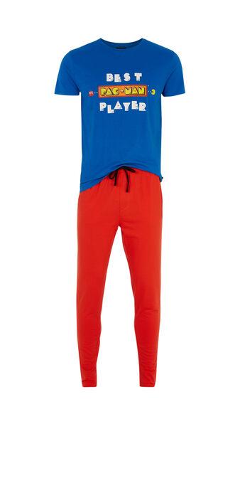 Ensemble de pyjama bleu roi overatiz blue.