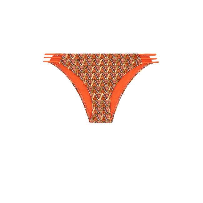Bas de maillot de bain slip orange afrotubiz;