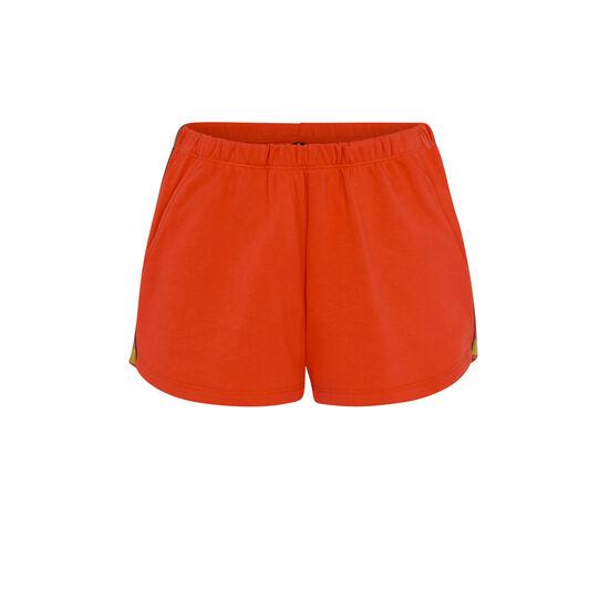 Short orange bootyliz;