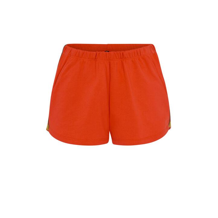Short orange bootyliz orange.