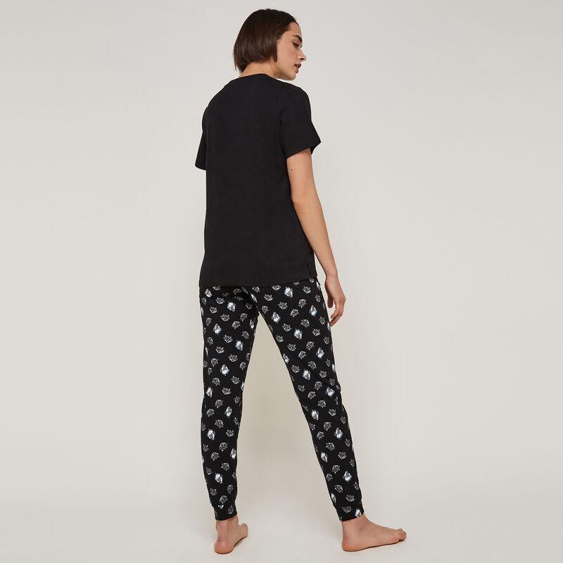 pantalon à imprimé percyiz;