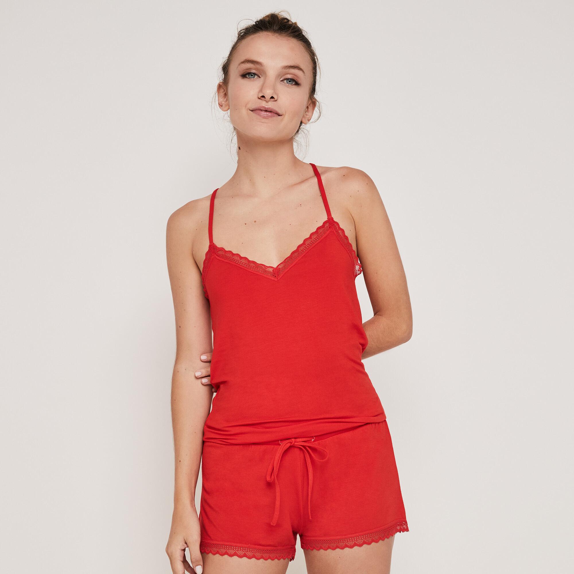 short en jersey vitamiz rouge Undiz