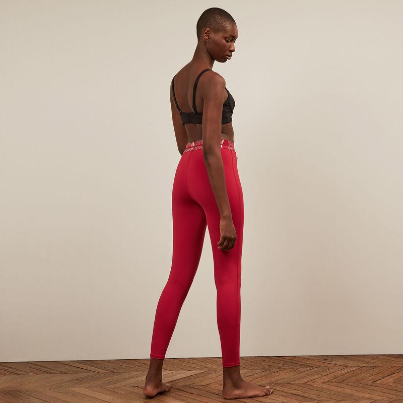 Legging de sport - rouge;